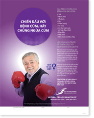 Fight The Flu - Senior Male Vietnamese (ngôn ngữ Việt nam) Poster