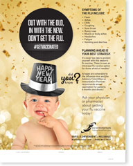 Out With The Old In With The New (New Year's) - Pediatric Poster
