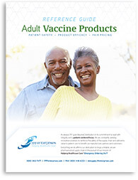 Adult Vaccine Products Reference Guide