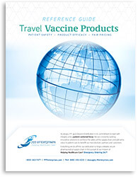 Travel Vaccine Products Reference Guide